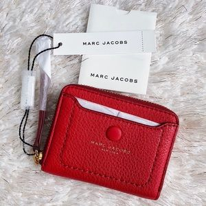 ✨New MARC JACOBS Empire City Leather Mini Wallet